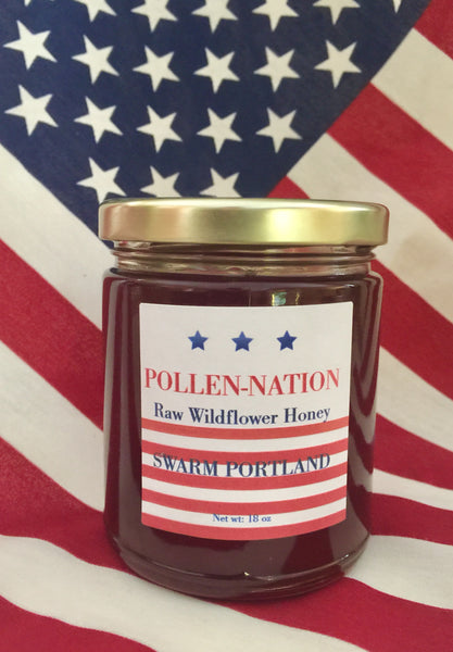 Pollen-Nation Wildflower Honey