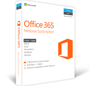 Product of the Month - May 2017 - Office 365 Personal 3 Months