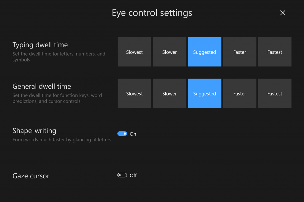 Eye Control is Coming to Windows 10