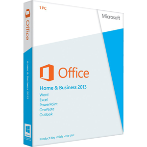 Product of the Month - April 2017 - Office 2013 Home and Business Instant Download