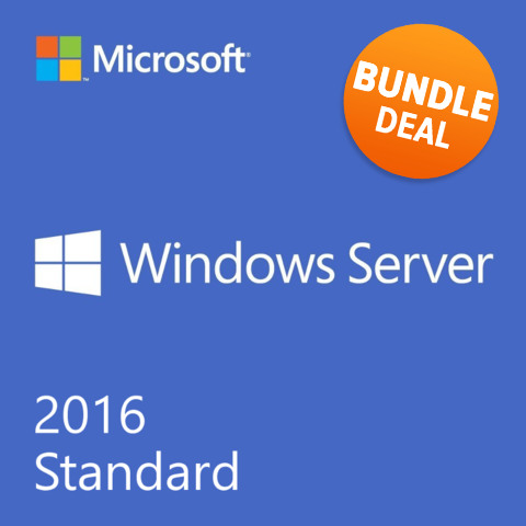 Product of the Month - January 2017 - Windows Server 2016 + CALs Bundle