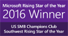 Microsoft Partner of the Year Rising Star Winner