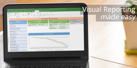 Visual Reporting is Easy with Microsoft Project 2016 Professinal