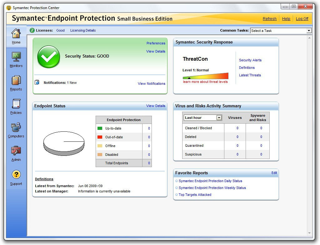 Symantec Endpoint Protection Security Apps