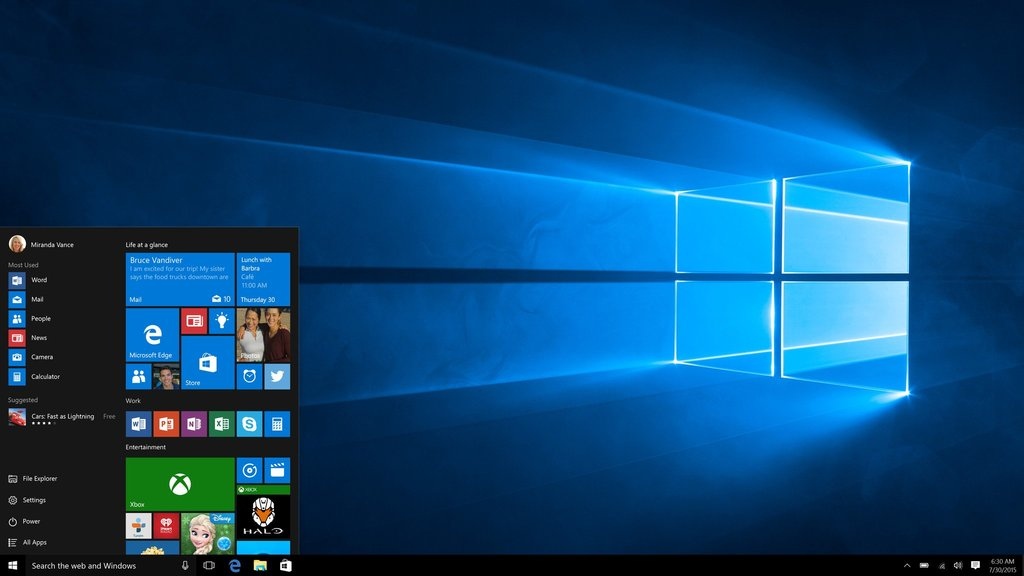 MS Windows 10 Pro