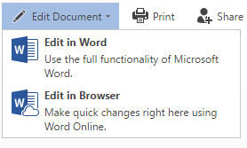 word online, office online, office 365, edit document
