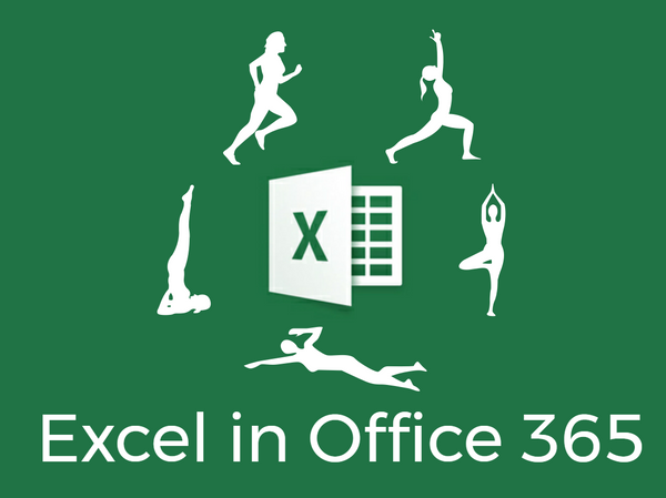 excel, office 365, microsoft, track fitness, my choice software