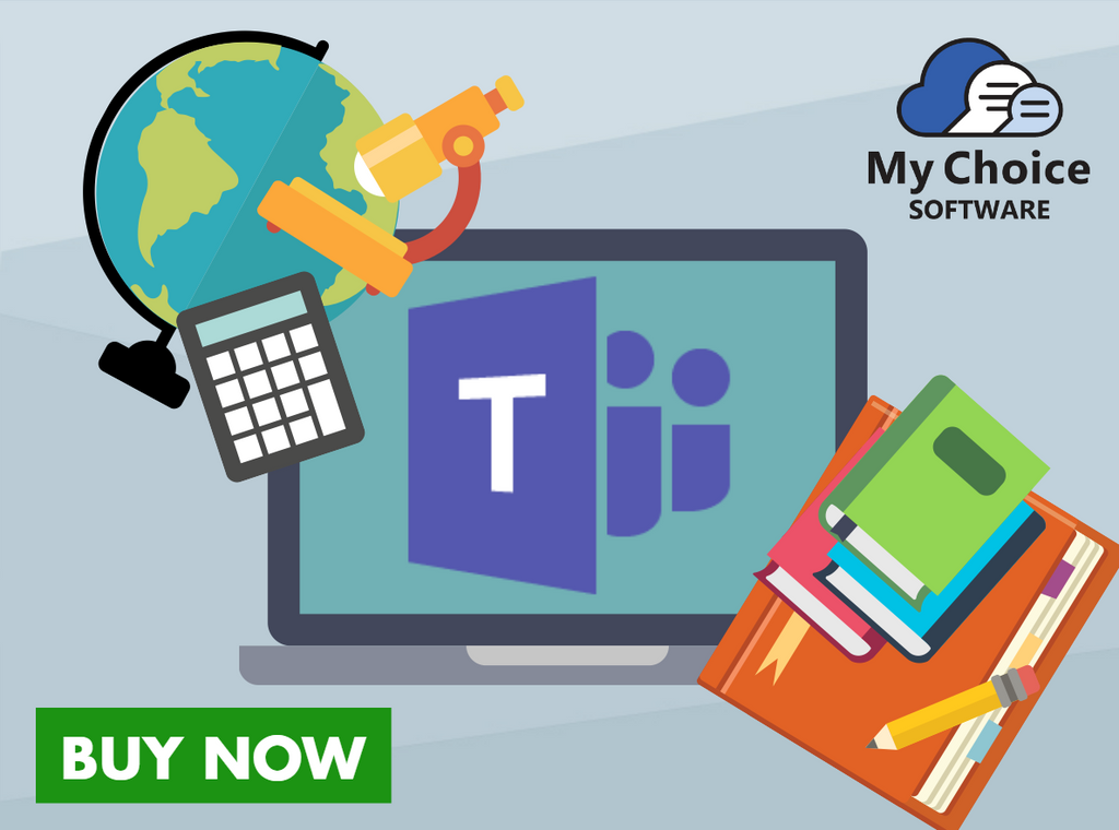 microsoft teams, microsoft, education, my choice software