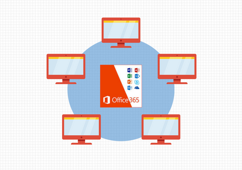 microsoft office 365 5 users