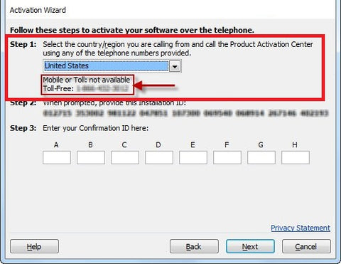 microsoft office standard 2013 activation wizard