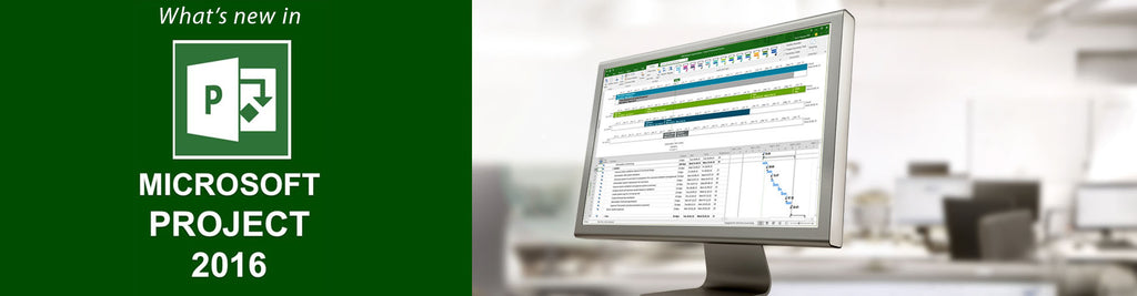 What's new in Microsoft Project 2016