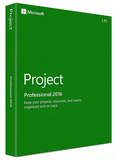 Microsoft Project 2016 Professional (PC Download)