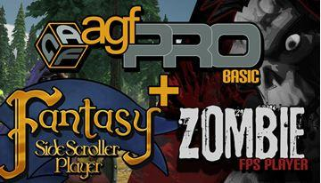 Axis Game Factory AGF Pro+Zombie+Fantasy