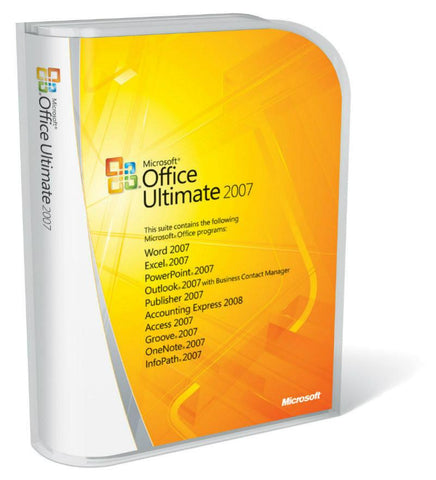 Microsoft Office 2007 Ultimate edition -  License - MyChoiceSoftware.com - 1