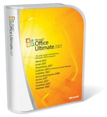Microsoft Office Ultimate 2007 - English International - Box Pack - MyChoiceSoftware.com