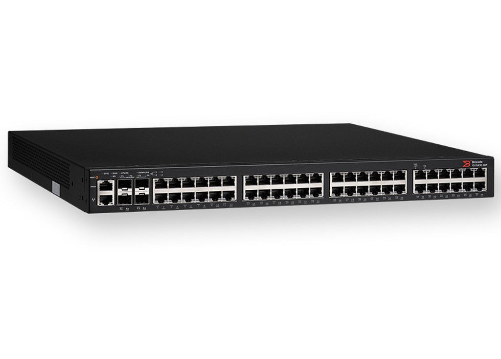 Brocade ICX 6450 48 L3 Managed Switch Ports 2 Gigabit