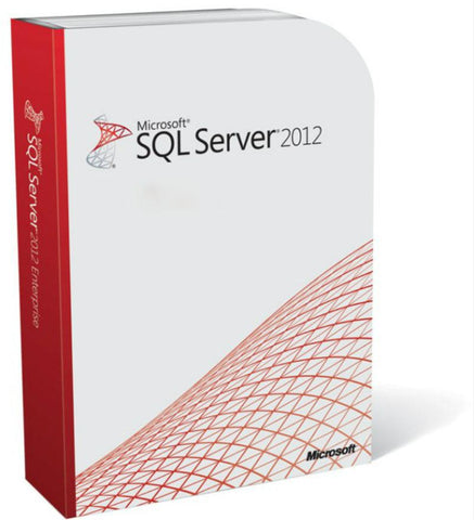 Microsoft SQL Server 2012 Standard with 10 CALs - Retail License - MyChoiceSoftware.com