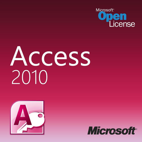 Microsoft Access 2010 Open License