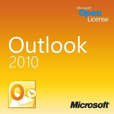 Microsoft Outlook 2010 Open License