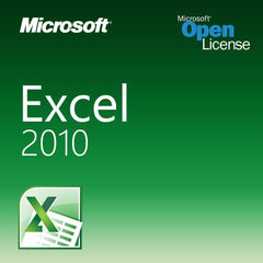 Microsoft Excel 2010 Open License