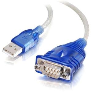 C2G Cables To Go Usb To Db9 Serial Adapter - MyChoiceSoftware.com