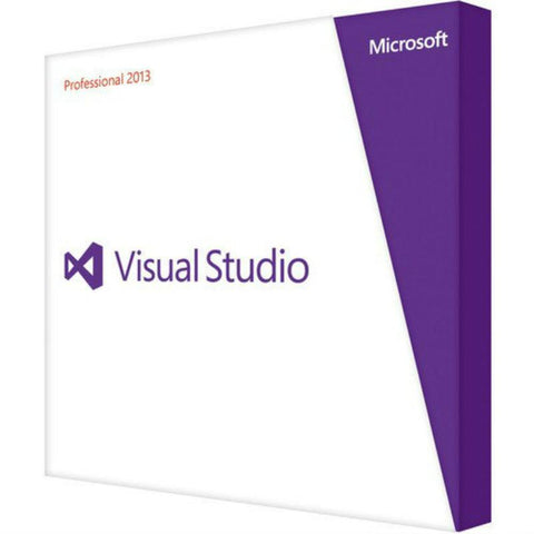 Microsoft Visual Studio Professional 2013 Upgrade Retail Box