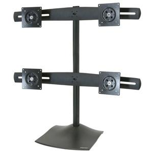 Ergotron Ds100 Quad-monitor Desk Stand.