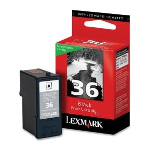Lexmark International, Inc. #36 Black Return Program Print Cartridge - MyChoiceSoftware.com