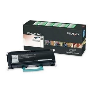 Lexmark E260/E36x/E46x Return Print Black 3.5k pages