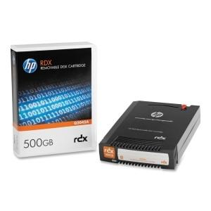 Hewlett Packard Enterprise Hp RDX 500gb Removable Disk Cartridge - MyChoiceSoftware.com