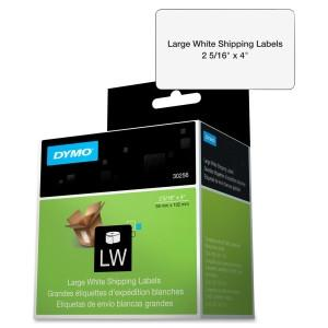 Dymo White Shipping Label 2-5/16 X 4.