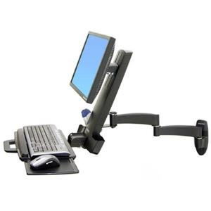 Ergotron 200 Series Combo Arm, Black - MyChoiceSoftware.com