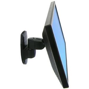 Ergotron 200 Series Wall Mount Pivot, Black