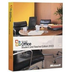 Microsoft Office Student and Teacher 2003 - Retail Box - MyChoiceSoftware.com