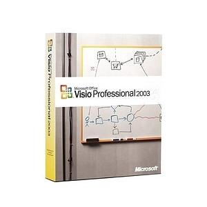 Microsoft Visio 2003 Professional - Full Version - MyChoiceSoftware.com