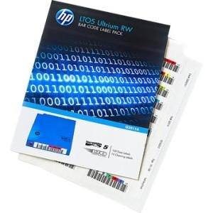 Hewlett Packard Enterprise Hp Lto5 Ultrium Rw Bar Code Label Pack - MyChoiceSoftware.com