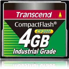Transcend Information 4gb Industrial Cf Card 200x - MyChoiceSoftware.com