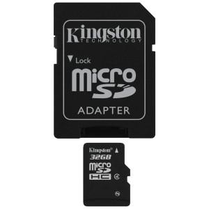 Kingston 32gb Micro SDHC Class 4 Flash Card - MyChoiceSoftware.com