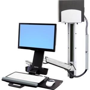 Ergotron Styleview Sit-stand Combo  With Medium - MyChoiceSoftware.com