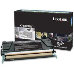 Lexmark Black High Yield Return Program Toner Cartridge X746, X748 12k page - MyChoiceSoftware.com