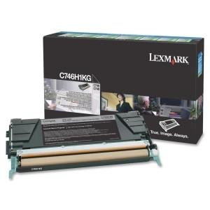 Lexmark Black High Yield Return Program Toner Cartridge C746, C748 12k page - MyChoiceSoftware.com