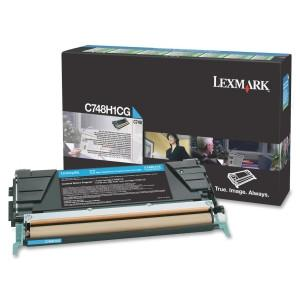 Lexmark Cyan High Yield Return Program Toner Cartridge C748 10k page - MyChoiceSoftware.com