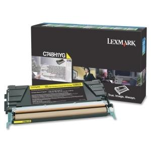 Lexmark Yellow High Yield Return Program Toner Cartridge C748 10k black - MyChoiceSoftware.com