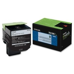 Lexmark Yield Return Program Toner Cartridge Black 701XK CS510 8k page - MyChoiceSoftware.com
