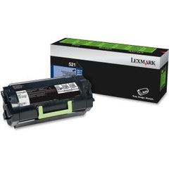 Lexmark 521 Return Program Toner Cartridge MS81x 6k black - MyChoiceSoftware.com