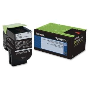 Lexmark IGH Yield Return Program Toner Cartridge Black 701HK 4k Black - MyChoiceSoftware.com