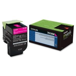 Lexmark Yield Return Program Toner Cartridge Magenta 701XM CS510 4k page - MyChoiceSoftware.com