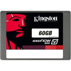 Kingston 60gb SSDNow V300 Sata 3 2.5  W/adapter - MyChoiceSoftware.com