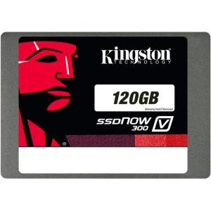 Kingston 120gb SSDnow V300 Sata 3 2.5  W/adapter - MyChoiceSoftware.com