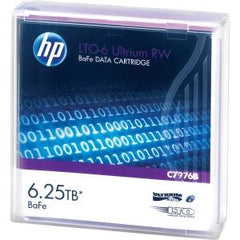 Hewlett Packard Enterprise Hp LTO6 Ultrium 6.25tb BaFe Rw Data Tape - MyChoiceSoftware.com